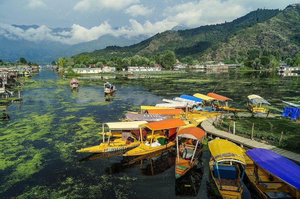 Srinagar dal Lake Sudhakar Bichali