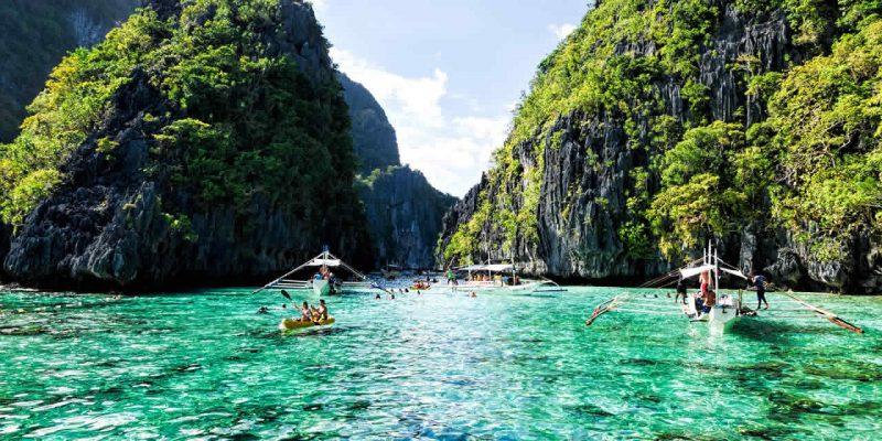 L'archipel de Bacuit au Philippines